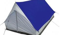 Палатка Columbus «Alaska», цвет: синий, серый