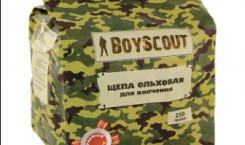 Щепа ольховая «Boyscout» для копчения, 250 г