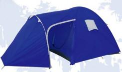 Палатка «Everest», двухслойная, цвет: синий. 2741