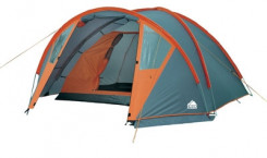 Палатка Trek Planet «Hudson 4», цвет: серый, оранжевый