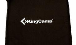 Подушка «KingCamp», самонадувающаяся, цвет: черный