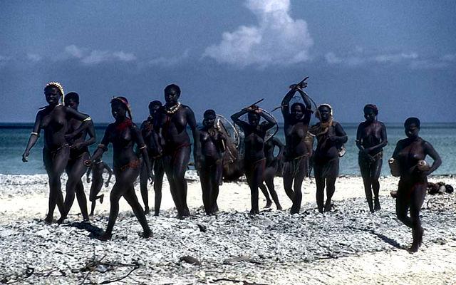 Андаманские острова.Люди Jarawa