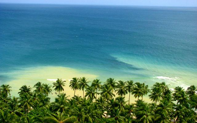 Андаманские острова.Северная бухта.Пляж.