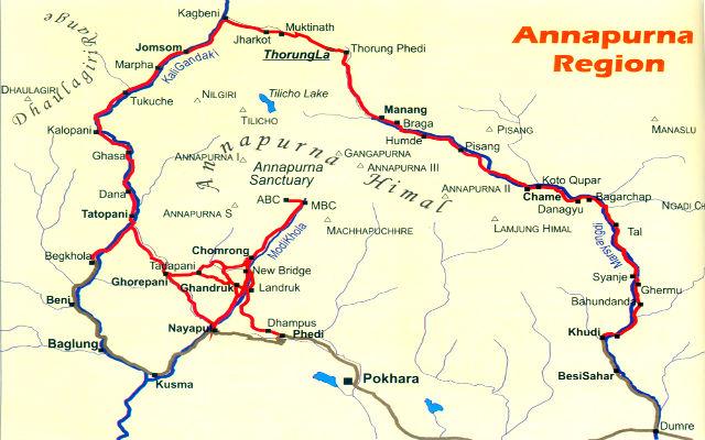Аннапурна Circuit Trek