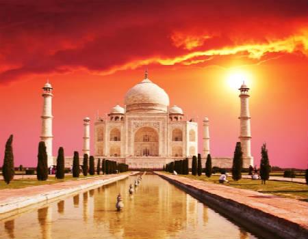 дворец Индии-Тадж-Махал