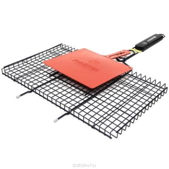 """Решетка-гриль """"Forester"""" с антипригарным покрытием, 26 см х 45 см + подарок"""