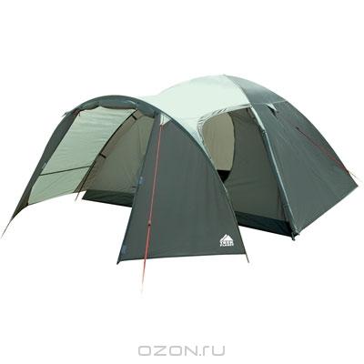 "Палатка Trek Planet ""Boston Air 4"", цвет: оливковый, темно-оливковый"