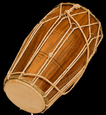 Дхолак - индийский барабан