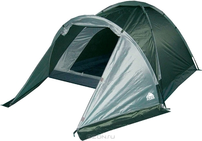 """Палатка Trek Planet """"Toronto 4"""", цвет: темно-зеленый, оливковый"""