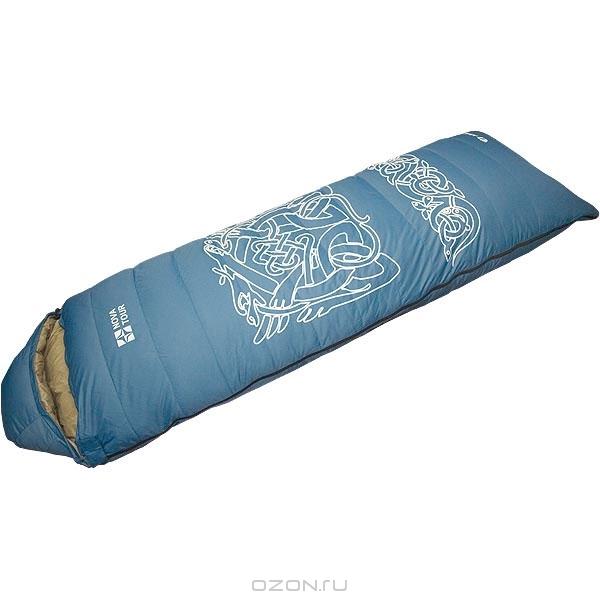 """Спальный мешок-одеяло пуховой """"Альбаган"""", """"NOVA TOUR"""", цвет: синий"""