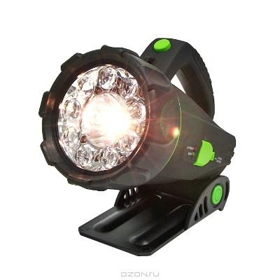 """Фонарь-прожектор аккумуляторный """"Космос"""" с подставкой. Модель Accu1500S LED RUB"""