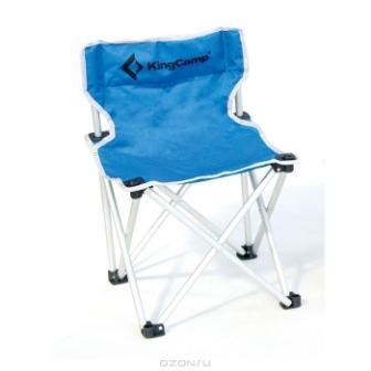 """Стул складной """"KingCamp"""" для кемпинга, цвет: голубой"""