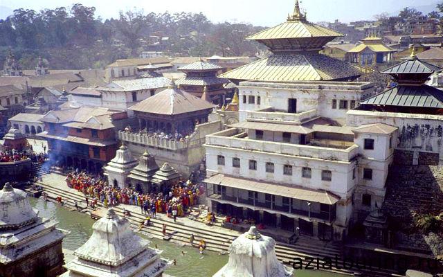 Храм Пашупатинатх,Катманду,Непал