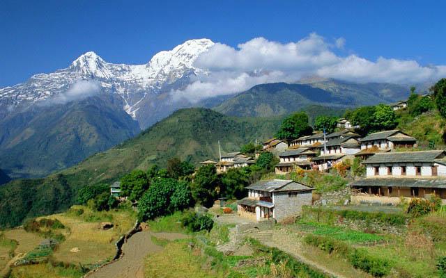Удивительный заповедник Непала