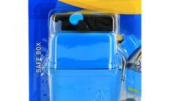 Водонепроницаемый контейнер «Travel Blue», цвет: голубой